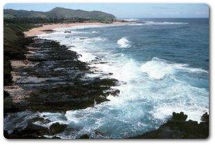 A Hawaii beach