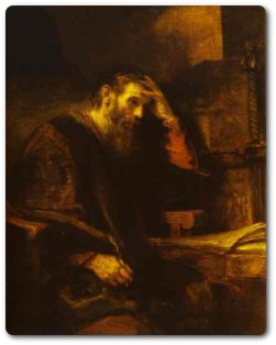 Rembrandt. The Apostle Paul. c. 1657.