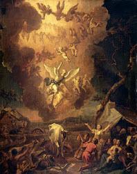 Hondius Annunciation