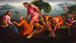 The Miraculous Draught of Fishes, 1545. Jacopo Bassano